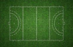 Rasenfläche-Hockey-Neigung Stockbild