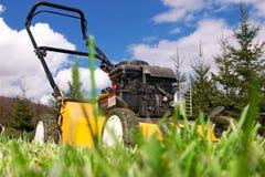 Rasenmähmaschine Stockfoto