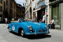 Raser Porsches 356 bei Mille Miglia 2016 Lizenzfreie Stockbilder