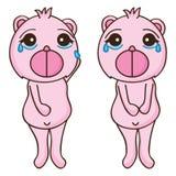 Rasgo da tristeza do urso Foto de Stock Royalty Free