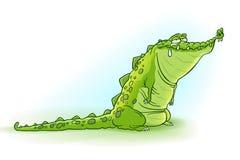 Rasgones de cocodrilo Imagen de archivo libre de regalías