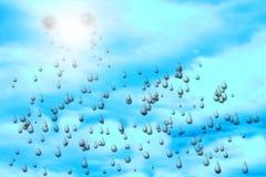 Rasgos do céu Foto de Stock