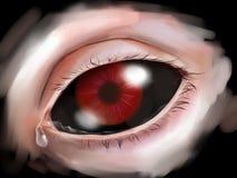 Rasgos do horror ilustração do vetor