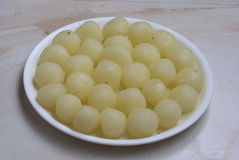 Rasgulla Tasty Indian Sweets Made With Milk And Sweet Syrup Stock Photo