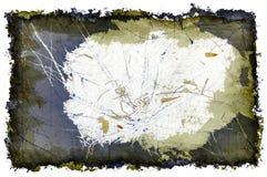 rasguños y frontera tridimensionales de Grunge Imágenes de archivo libres de regalías