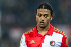 Rashaan Fernandes gracz Feyenoord Obraz Royalty Free