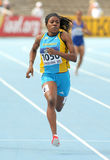 Rashan Brown of Bahamas Royalty Free Stock Photos