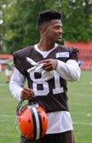 Rashard Higgins WR Cleveland Browns NFL Royalty Free Stock Images