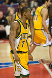 Rashard Lewis Of The Seattle Supersonics Stock Photos