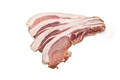 Rashers of bacon Royalty Free Stock Photography