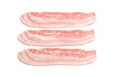 Rashers of bacon on background Stock Photography