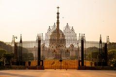Rashtrapati Bhavan é a casa oficial do presidente da Índia Foto de Stock Royalty Free