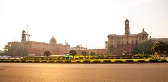 Rashtrapati Bhavan es el hogar oficial del presidente de la India Fotos de archivo