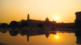 Rashtrapati Bhavan, Delhi, India Royalty Free Stock Image