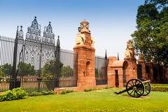 Rashtrapati Bhavan jest oficjalnym domem prezydent Indi Obrazy Royalty Free
