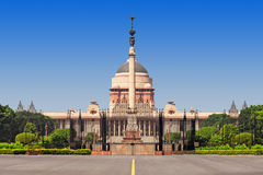 Rashtrapati Bhavan Royalty Free Stock Photo