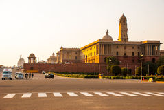 Rashtrapati Bhavan is the official home of the President of India. The capital of India, Delhi royalty free stock photo