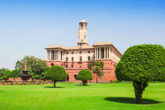 Rashtrapati Bhavan Royalty Free Stock Photos
