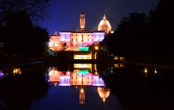 Rashtrapati Nuova Delhi bhawan India 1 fotografia stock libera da diritti