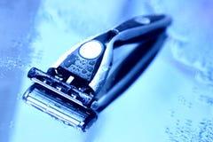Rasiermesser der Männer Lizenzfreies Stockbild