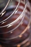Rasiermesser-Draht Stockfoto