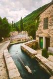 Rasiglia Umbria Riverside Town Italy foto de archivo
