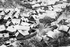 Rasinari Dorf Lizenzfreie Stockfotografie