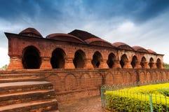 Rasmancha świątynia, Bishnupur, India Obraz Royalty Free