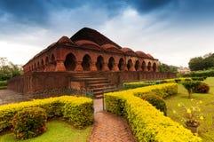 Rasmancha tempel, Bishnupur, Indien arkivfoto