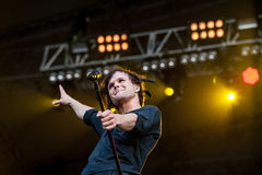 The Rasmus concert Stock Photography