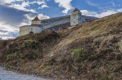 Rasnov城堡,罗马尼亚 免版税库存照片
