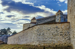 Rasnov城堡,罗马尼亚 免版税库存图片