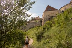 Rasnov堡垒,罗马尼亚 库存图片