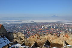Rasnov堡垒 库存图片