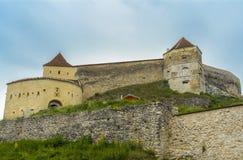 Rasnov堡垒 免版税库存照片