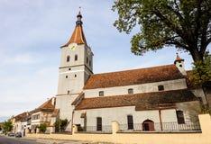 Rasnov市看法从城堡,罗马尼亚的 免版税库存图片