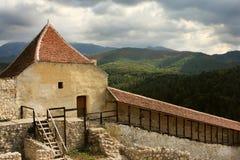 rasnov Румыния крепости brasov стоковое фото rf