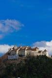 rasnov укрепленное замоком крепости Румыния Стоковые Фотографии RF