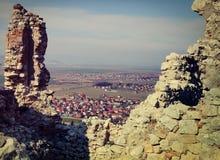 Rasnov, Brasov okręg administracyjny, Rumunia Fotografia Stock