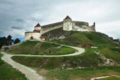 Rasnov Castle. A bueutiful transilvanian castle placed in Rasnov. This place is from the Romanian village named Rasnov Royalty Free Stock Photography