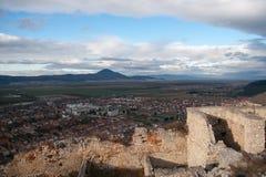 Rasnov Castle in Romania Stock Photography