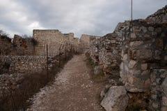 Rasnov Castle in Romania Royalty Free Stock Image