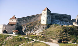 Rasnov castle Royalty Free Stock Images