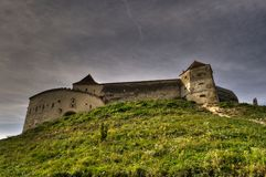 Rasnov Citadel. This is an medieval citadel of city Rasnov from Romania Royalty Free Stock Image