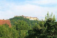 Rasnov citadel Royaltyfria Foton