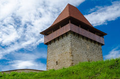 Rasnov citadel fortress, Romania Stock Photo