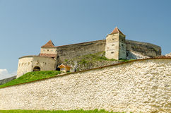 Rasnov Citadel Royalty Free Stock Photos