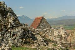 Rasnov Citadel royalty free stock photo
