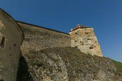 Rasnov Citadel stock photography