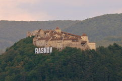 Rasnov citadel Royalty Free Stock Photography